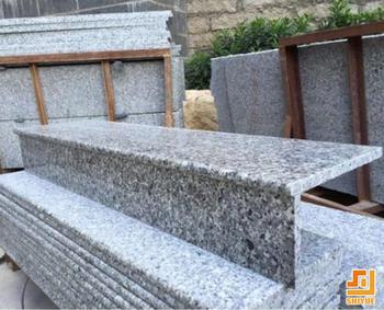 Merveilleux Anti Slip Grey Granite Step Stone Stairs   Buy Natural Stone Anti Slip  Stairs,Granite Stairs Design,Outdoor Stone Steps Risers Granite Stairs  Product ...