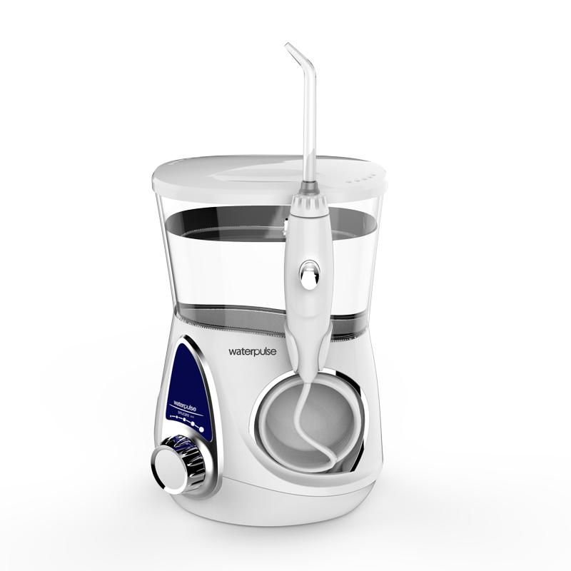 Waterpulse New Design Water Flosser With 700mL High Volume Water Tank фото