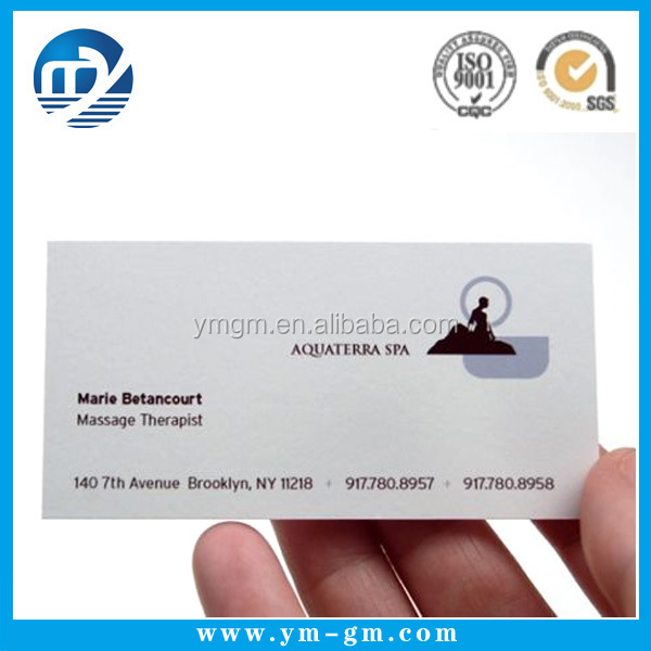 High Quality Paper Visiting Card Models