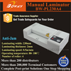 23cm paper size small Heating pouch-film a4 laminator machine