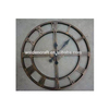 Factory Price 100% Handmade Wall Hanging Large Glod Clock 24In