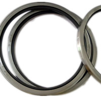 High Temperature SA FKM Double iron shell single lip oil seal metal oil seals o ring for Electric power Plant mechanical