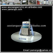 2012 New design transparent acrylic phone holder