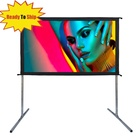 OEM pvc matt white projection screen fabric outdoor projector screen for home projector