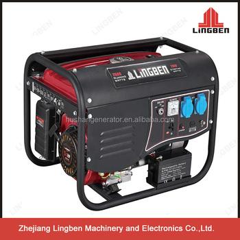 Lingben 2 5kw Honda Electric Magnetic Motor Generator For