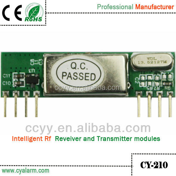Universal high sensitivity 868MHz RF receiver module