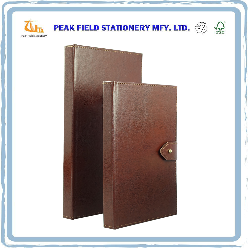 Custom OEM notebook handmade Pu leather journal manufacturers
