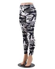02058b765de98 Gray Camoflauge Leggings M Medium Large 10 to 14 Jeggings Best Seller Pants Womens  Plus size