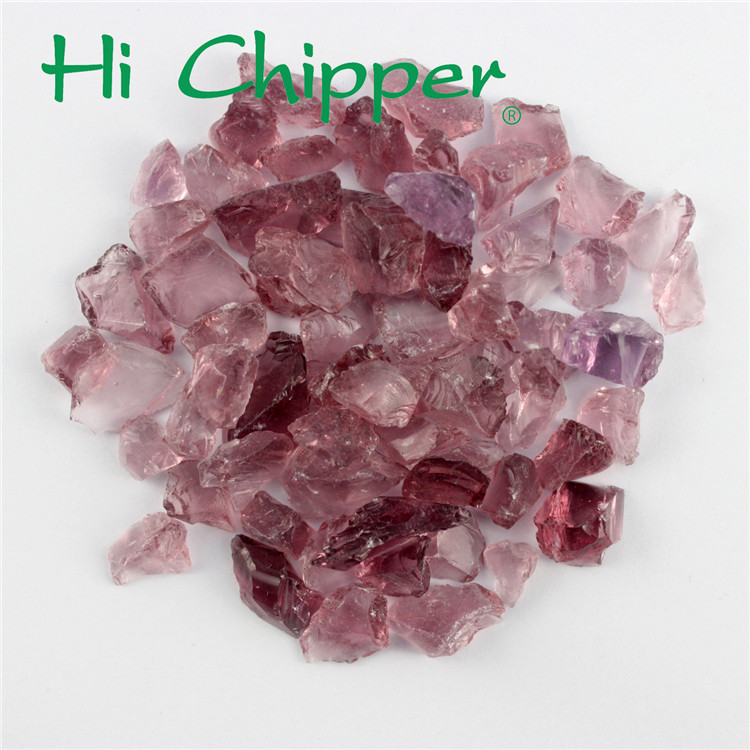 Crushed glass colorful terrazzo red colored cullet chips colored crushed glass for construction