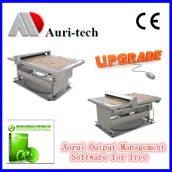Automatic Flat Bed Cutters/CAD Plotter/flatbed cutting plotter with CE Certification
