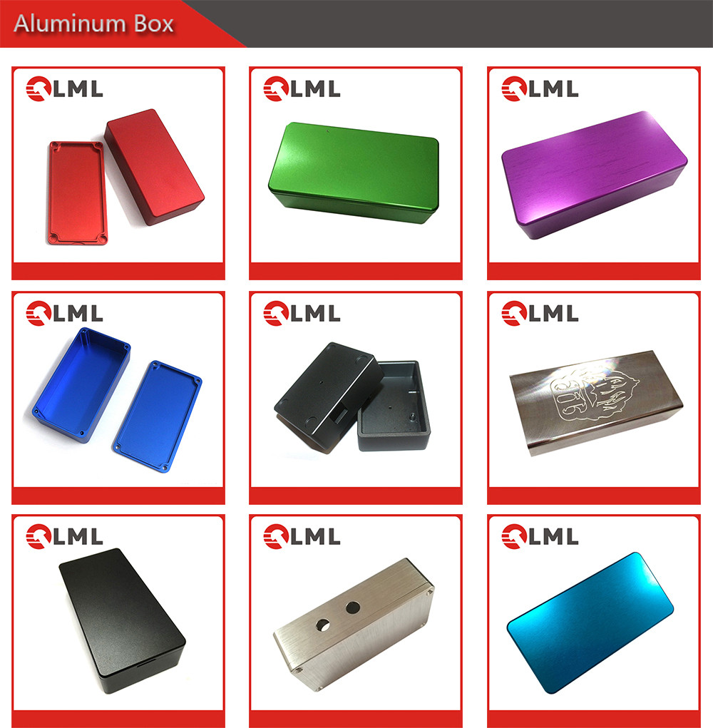 OEM AAA Quality Low Price Various Color CNC Machining 1590B Aluminum Box Factory From China