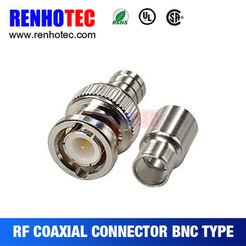 Amazing Crimp Male Bnc Connector On Standard Core Rg58 Awg Wire Buy Plug Wiring 101 Capemaxxcnl