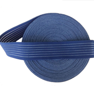 Fish Line and Nylon Material Knitted Elastic Tape for Clothes