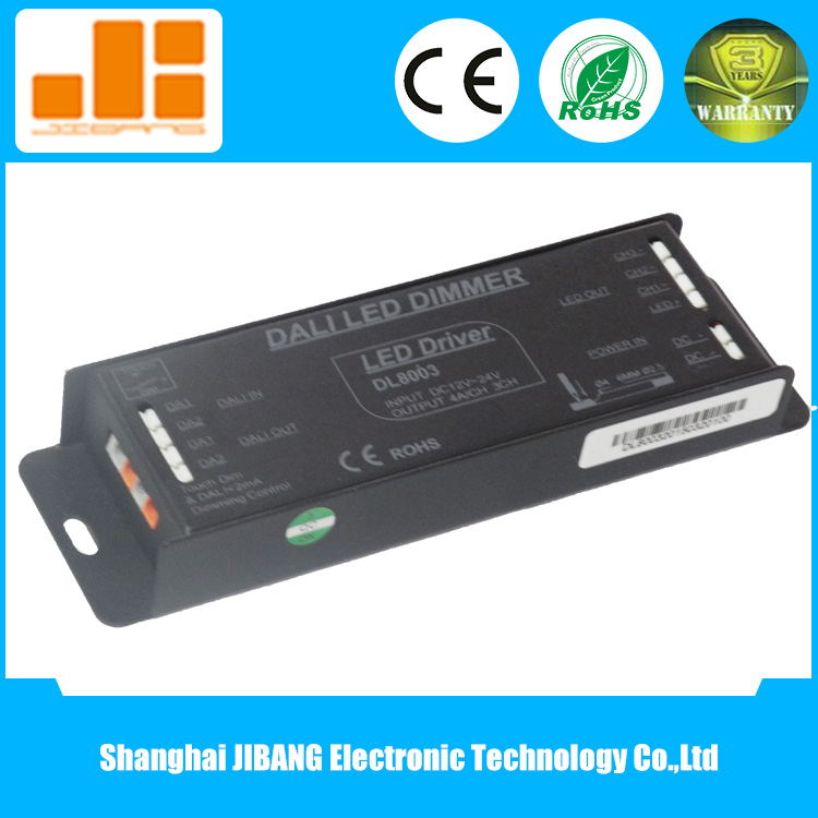 12V~24VDC LED RGB CV DALI Dimmable Driver for Lighting