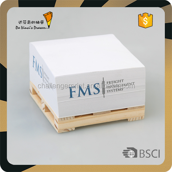 custom pallet sticky notes memo pads notepads
