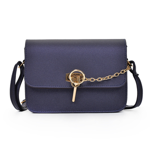 Cheap wholesale Chic new trend chain women bag with zipper lock buckle