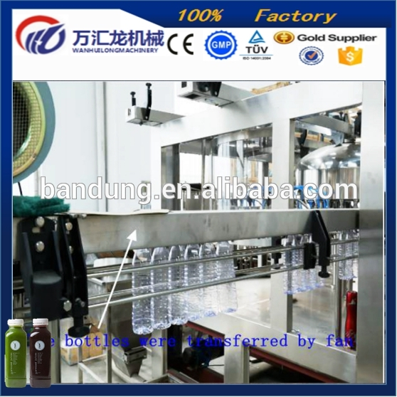 over 10 years experience high speed easy operation packaged drinking water filling machine