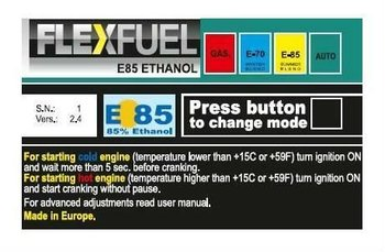 E85 BIOFUEL 4 CYL CONVERSION KIT FLEXFUEL ALCOHOL !