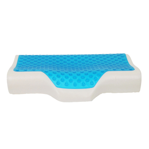 siliconized fill pillow sleep gel memory foam contour pillow sleep well aqua gel pillow