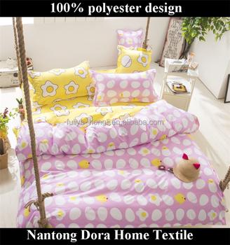 Rosa Kleine Prinzessin Kinder Bettwäsche Niedrigen Preis Tier Design