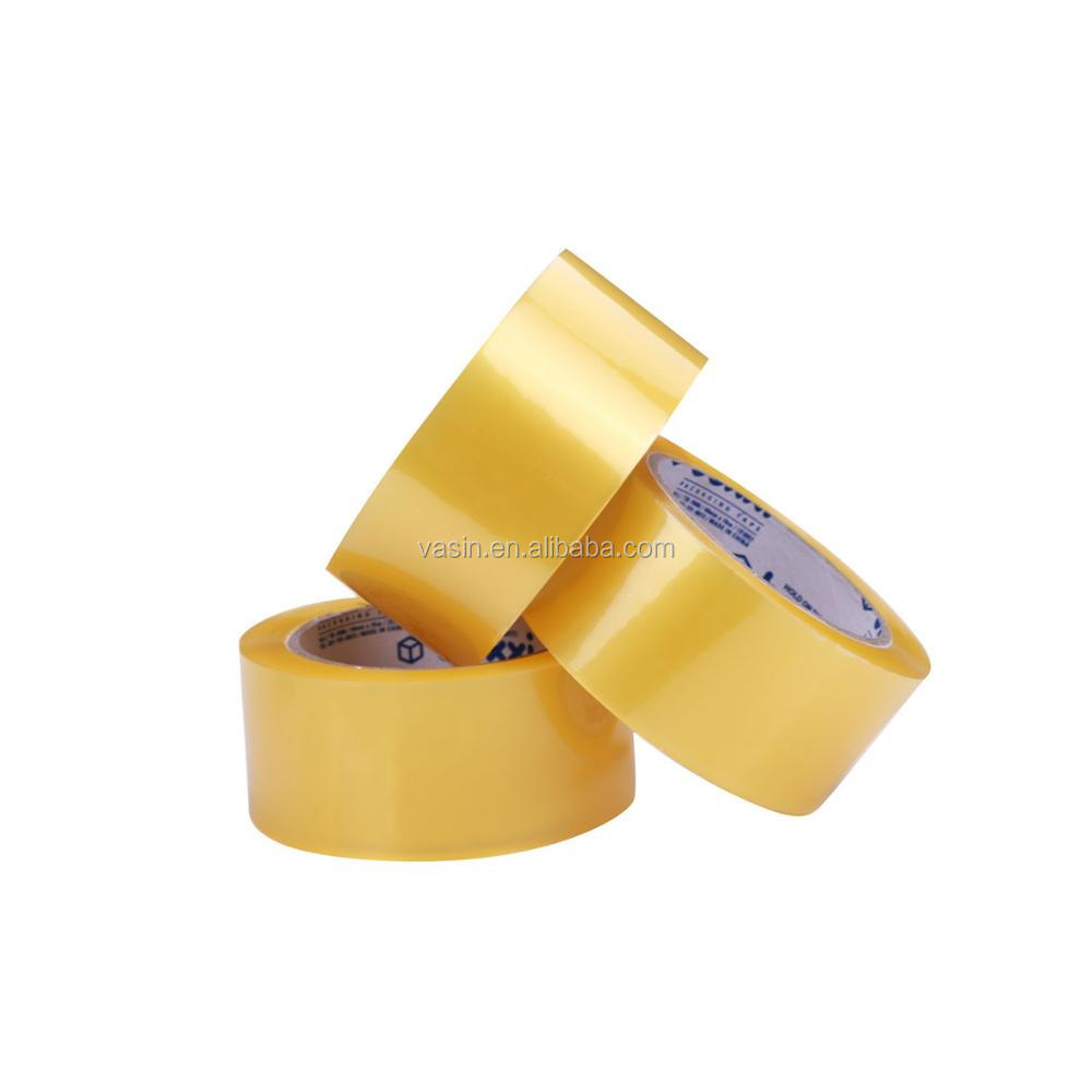 Dongguan Vasin transparent self adhesive tape stick band BOPP packing tape