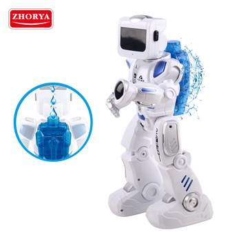 Zhorya intelligent rc alien water driven interactive robot toy