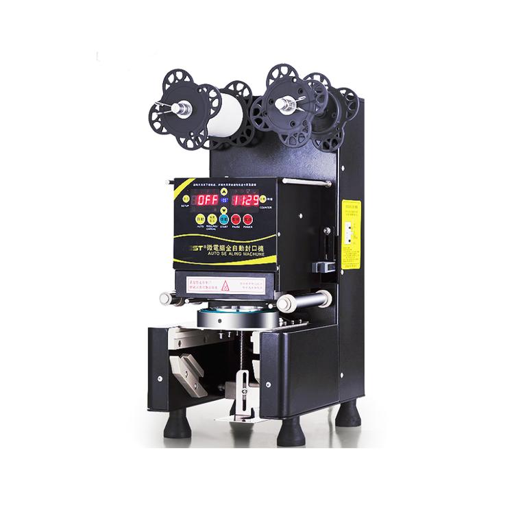 High Quality Wholesale Prices Automatic Bubble Tea Plastic Cup Sealing Machine