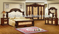 2013 Europe classic style furniture used full solid wood with carved to be finished