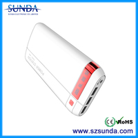 corporate gifts mobile phone recharge 20000mah power bank private label power bank