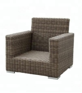 Luxury Outdoor Patio Garden Rattan Wicker Furniture Sofa