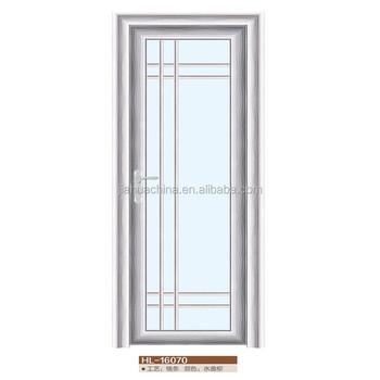 2016 alibaba decorative panel aluminum bathroom door for Aluminium bathroom door designs