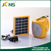 Hand Cranking Portable Solar Led Lantern with AC Charging and USB Port