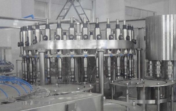 Aseptic hot filling machine / fruit juice beverage filling equipment manufactured by keyuan