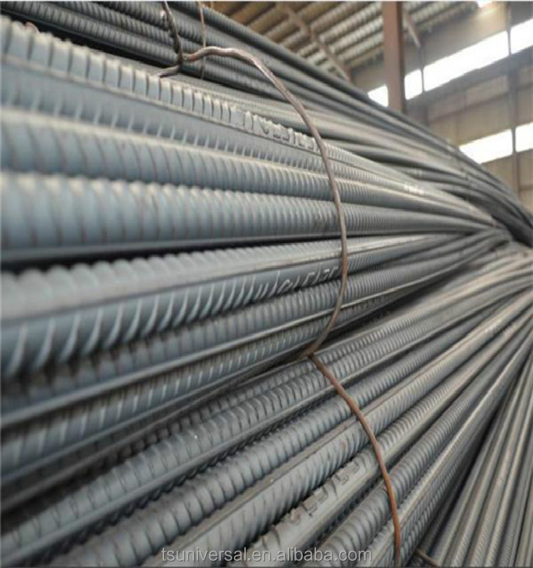 HRB400 Grade Steel Rebar steel rebar, deformed steel bar, iron rods for construction HRB400 Grade and 6m