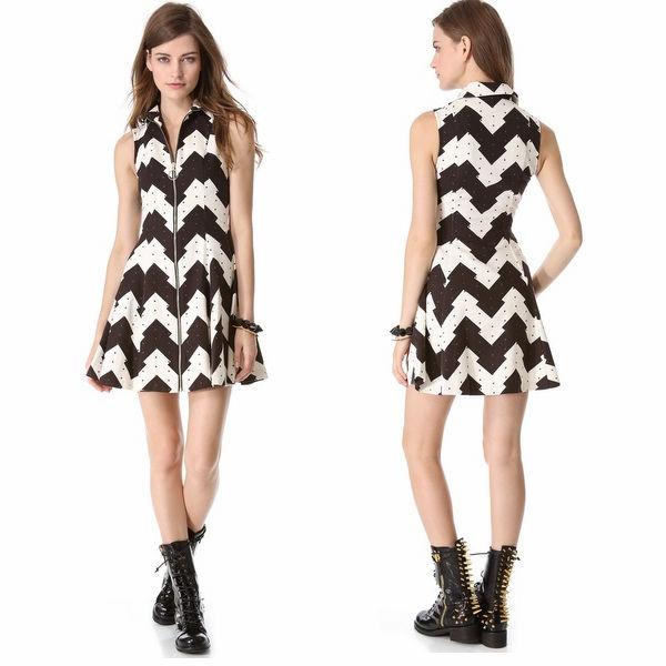 6d85677c8d63a تصميم الأزياء بو جودة عالية الجملة ملابس السيدات السود والبيض تركيا صغير بلا  أكمام الصور الملابس