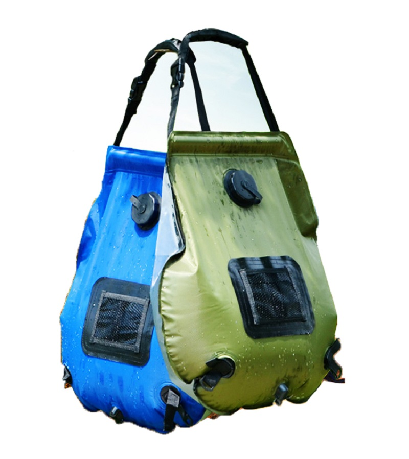 40LOutdoor SOLAR Water Heated Camping Shower Camp Bag Portable Hiking Washing