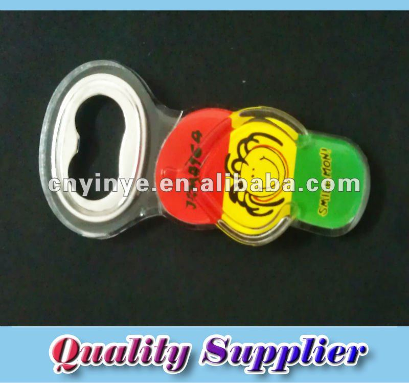Acrylic Fridge Magnet Bottle Opener For Promotion Shoes Shape