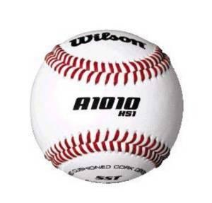 """9"""" NFHS High School Baseballs from Wilson - Case of 10 Dozen"""