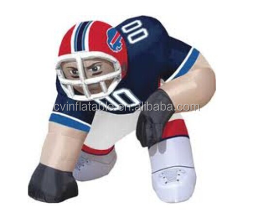 inflatable advertising sports man, inflatable football player