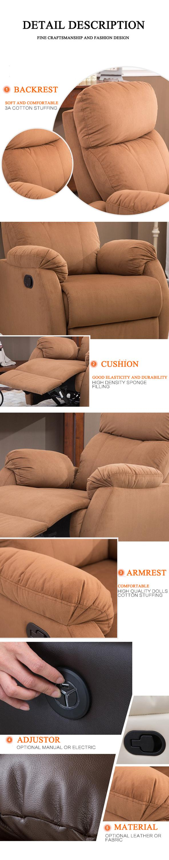 nitaly leather recliner sofa