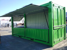 Container Shop, Cafe Container, Foldable Shop Container