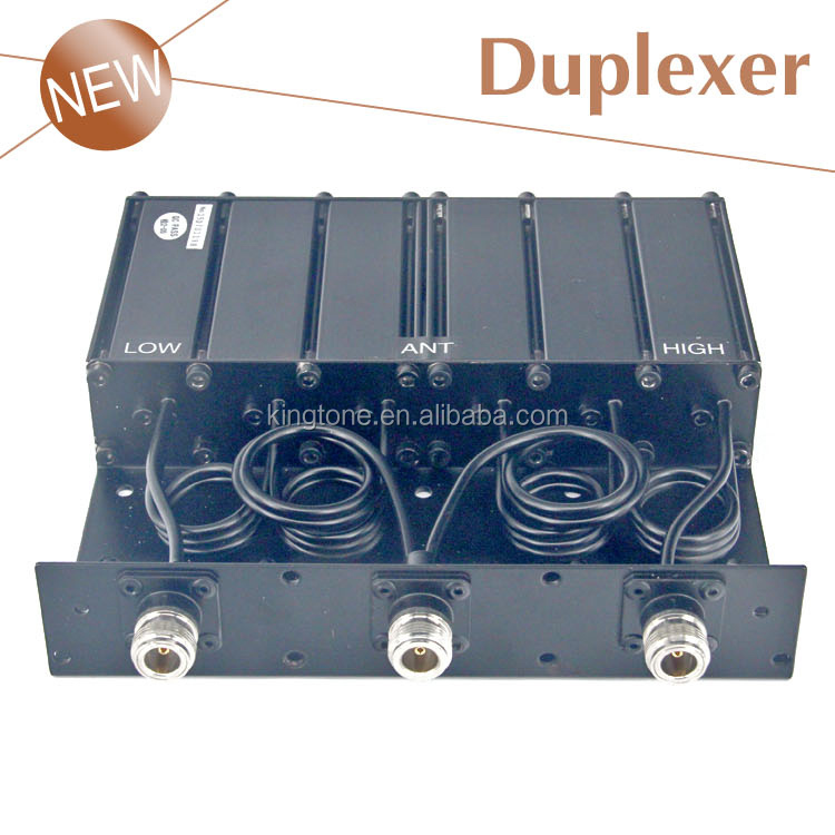 50W Duplexer Radio Repeater 136-174mhz 400-470mhz UHF VHF repeater Duplexer