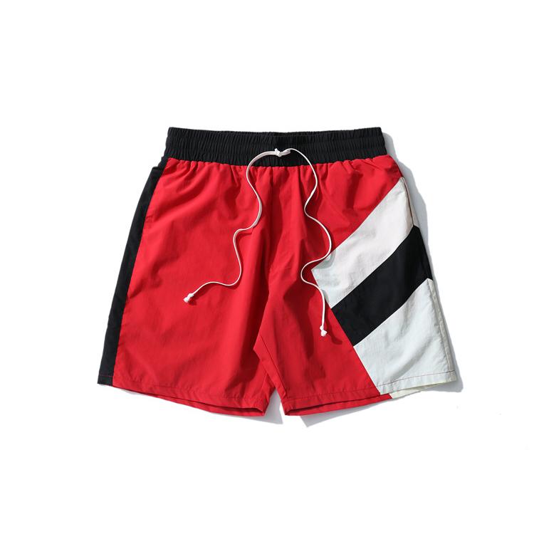 Nylon di Formazione Allenamento Sudore Pista Bicchierini Degli Uomini All'ingrosso Pantaloncini Da Ginnastica