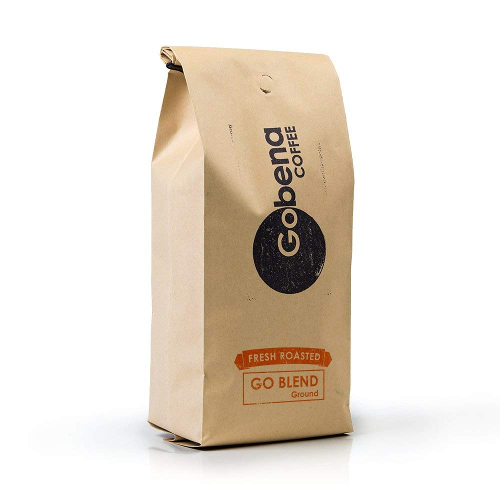 Go-Blend Ground 2 lb Fresh Roasted Specialty Coffee, Dark Roast