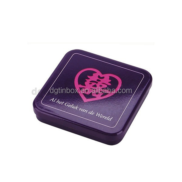 wedding packing tin box