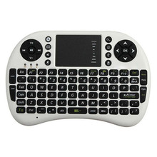 New 2016 Mini Wireless Keyboard 2.4ghz English Air Mouse Keyboard Touchpad Remote Control For Android TV Box Notebook Tablet PC