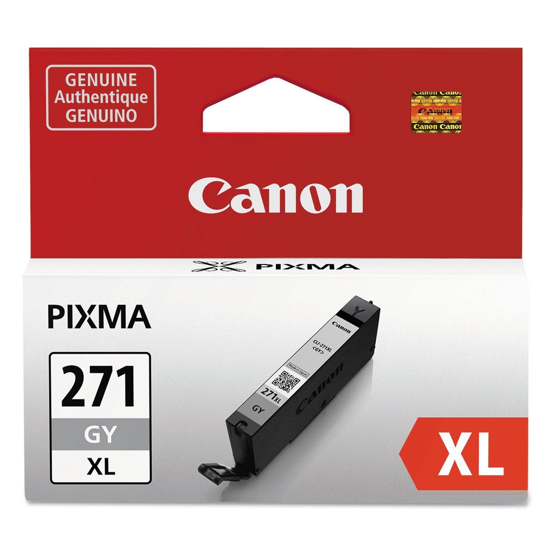 Canon 0340C001 CLI-271XL GY - Gray - original - ink tank - for PIXMA MG6820, MG7720