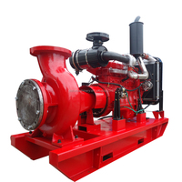 diesel and electric jockey pump fire fighting pump set