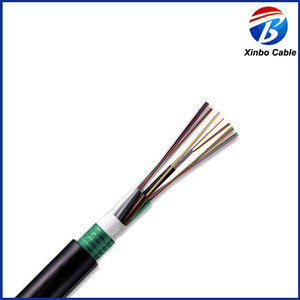 Hot Selling Armored Double Jackets Flame-retardant Mining optic fiber cable
