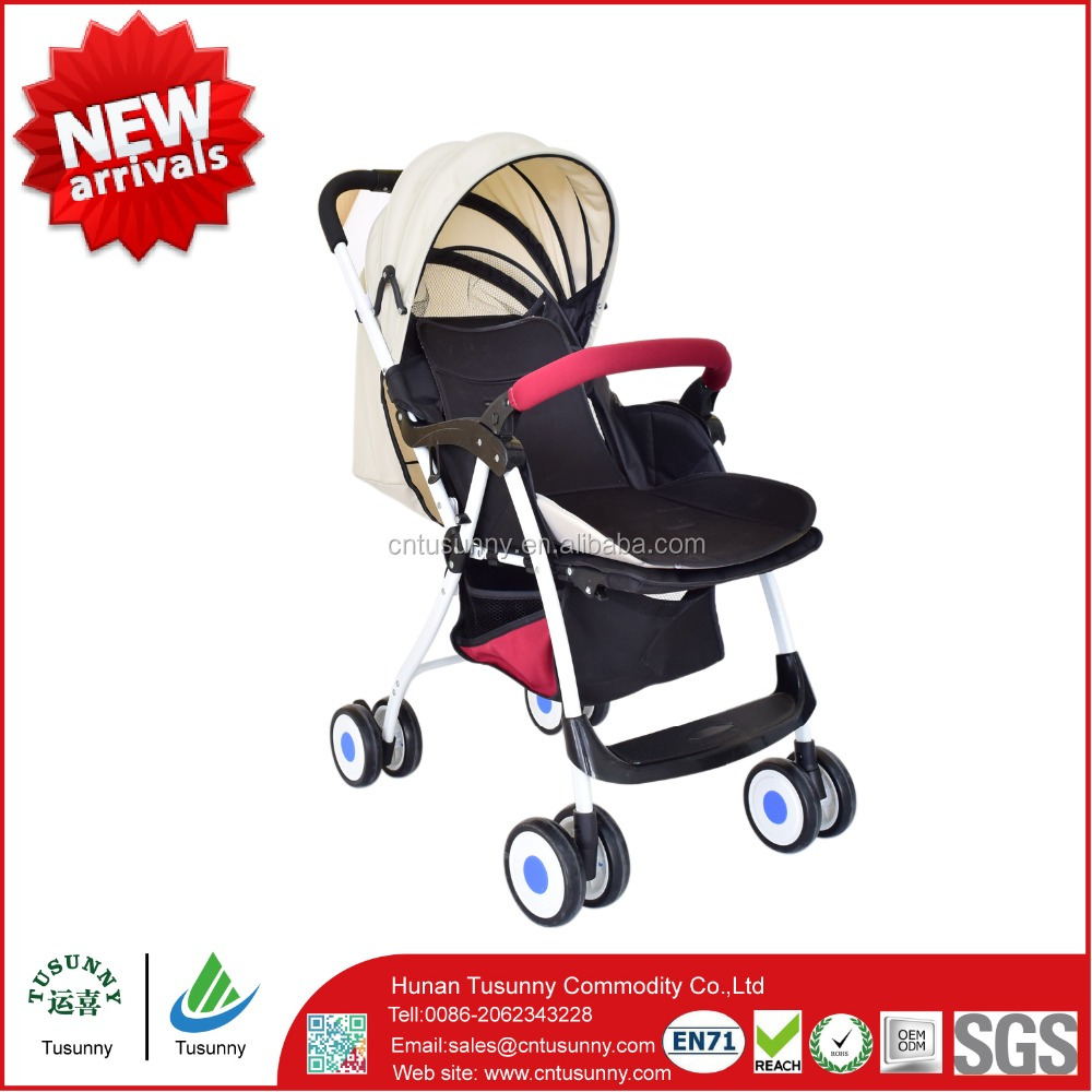 professional brake safety wheel foldable new model baby stroller